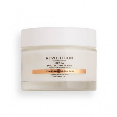 Makeup Revolution Skincare Krém na tvár Moisture Cream SPF15 a SPF30 Normal to Dry Skin