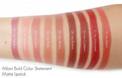 Milani Rúž na pery Bold Color Statement Matte