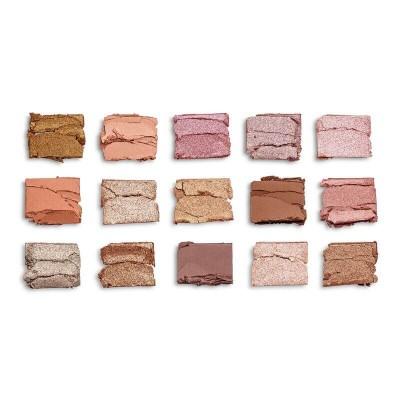 Makeup Revolution Paleta očních stínů Re-Loaded Fundamental