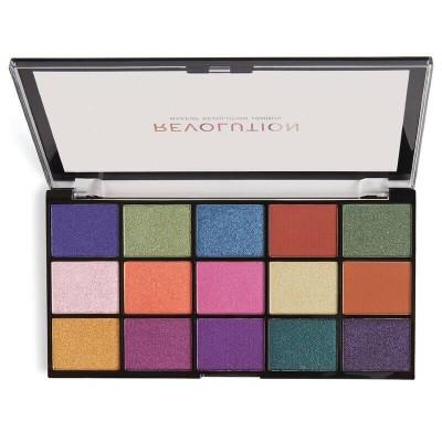 Makeup Revolution Paleta očních stínů Re-Loaded Passion For Colour
