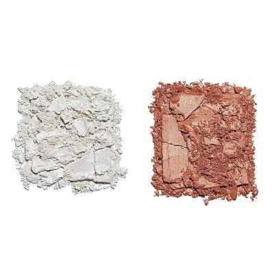 Makeup Revolution PRO 4K Highlighter Palette Rose Gold Paleta rozjasňovačov