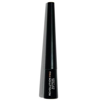 Makeup Revolution PRO Očná linka Supreme Pigment Dip Black