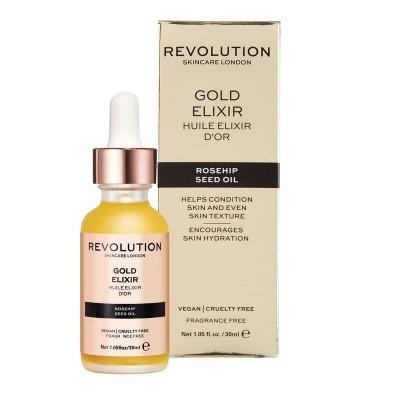 Revolution Skincare Vyživujúci olej Rosehip Seed Oil  Gold Elixir