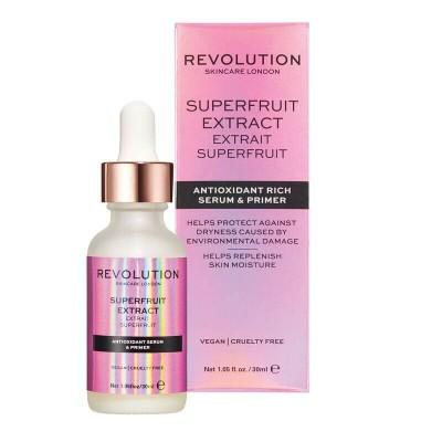 Revolution Skincare Rozjasňujúce sérum na pleť Superfruit Extract – Antioxidant Rich Serum & Primer