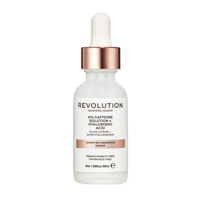 Revolution Skincare Sérum na oči Targeted Under Eye Serum - 5% Caffeine Solution + Hyaluronic Acid Serum