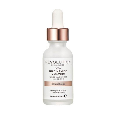 Revolution Skincare Sérum na póry Blemish and Pore Refining Serum - 10% niacinamid + 1% Zinc