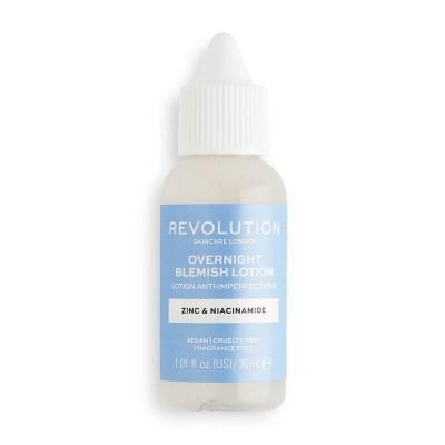 Revolution Skincare Overnight Blemish Lotion Lokální sérum na vyrážky