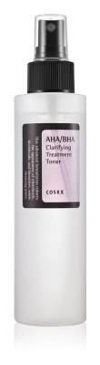 COSRX Čistiace tonikum na pleť AHA/BHA Clarifying Treatment Toner