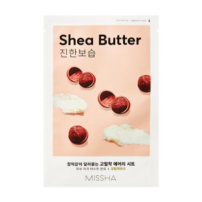 Missha Pleťová maska s výťažkom bambuckého masla Airy Fit Sheet Mask