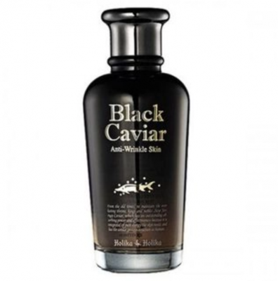 Holika Holika Kúra proti stárnutí Black Caviar Anti-Wrinkle Skin 120ml