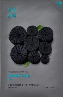 Holika Holika Čistiaca maska s aktívnym uhlím Pure Essence Charcoal