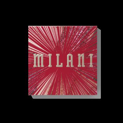 Milani Cosmetics Zvýhodnený set paleta očných tieňov Gilded Rouge Eyeshadow Palette +  Riasenka Most Wanted Lashes LAVISH LIFT & CURL