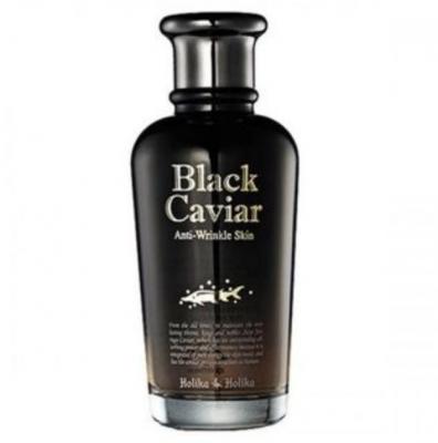 MISSHA Zvýhodnená sada na vrásky Kúra proti starnutiu Black Caviar Anti-Wrinkle Skin 120ml + Signature Wrinkle Fill-up BB Cream SPF37/PA++  odtieň 21
