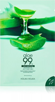 Holika Holika Pleťová maska Aloe 99% Soothing Gel Jelly