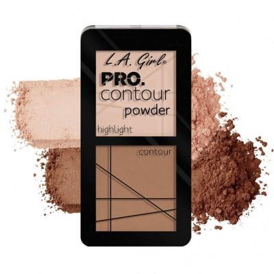 L.a.girl Kontúrovacia sada Pro Contour powder