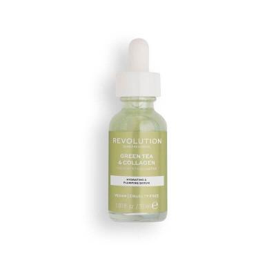 Revolution Skincare Hydratační a výživné sérum Green Tea & Collagen