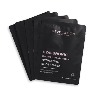 Revolution Skincare Sada pleťových masiek pre hydratáciu Hyaluronic Acid (5x)