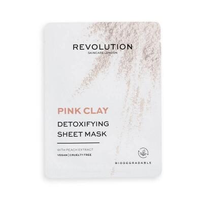 Revolution Skincare Sada pleťových masiek s detoxikačným účinkom Pink Clay (5x)