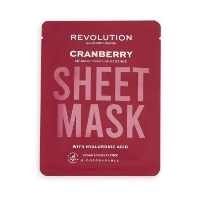 Revolution Skincare Pleťové masky biodegradable Dry Skin Sheet Mask (3x)