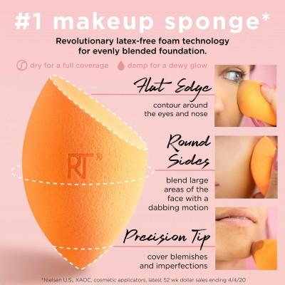 Real Techniques Hubka na make-up 2ks