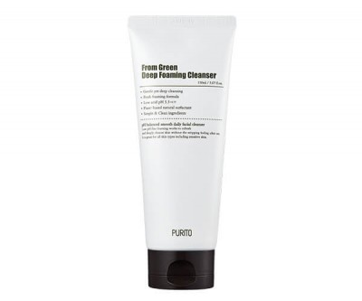 PURITO Čistící pěna From Green Deep Foaming Cleanser