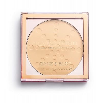 Makeup Revolution, Bake & Blot Pudr