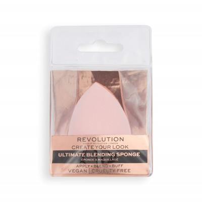 Makeup Revolution Houbička na make-up s antibakteriální přísadou Ultimate Blending sponge