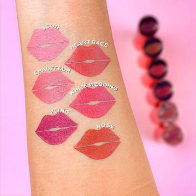 Makeup Revolution Rúž na pery Satin Kiss Lipstick
